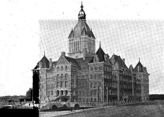 120th New York State Legislature - Image: New York State Capitol 1897
