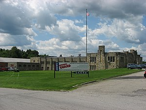 Shenango Township, Lawrence County, Pennsylvania - The New Castle Armory, a historic site in the township
