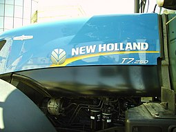 New Holland -traktorin logo