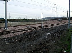 New tram line at Edinburgh Airport (geograph 3229192).jpg
