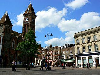 Newbury, Berkshire - Image: Newbury market place
