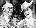 Newlyweds Mr and Mrs Arnold Yeldham Raine (Mary Bertha Thomas).jpg