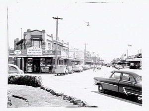 Newtown, Victoria - Fairview Ave, Newtown, 1955.