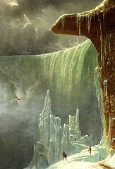Niagara, The Table Rock in Winter