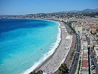Quai des Etats-Unis and Promenade des Anglais in the distance