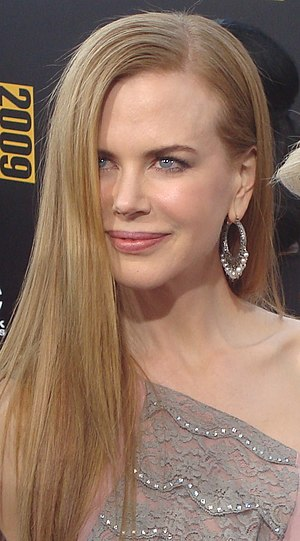Nicole Kidman at the 2009 American Music Award...