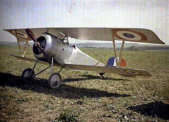 History of the Armée de l'Air (1909–1942) - 1916 Nieuport 23