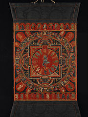 Nine-deity Mandala of Two-armed Hevajra