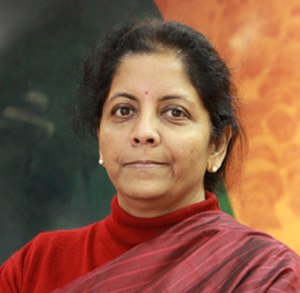 Minister of Defence (India) - Image: Nirmala Sitharaman (cropped)
