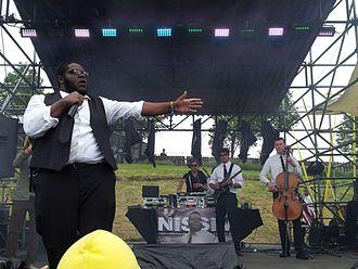 Sasquatch! Music Festival - Nissim at the 2013 Sasquatch! Music Festival.