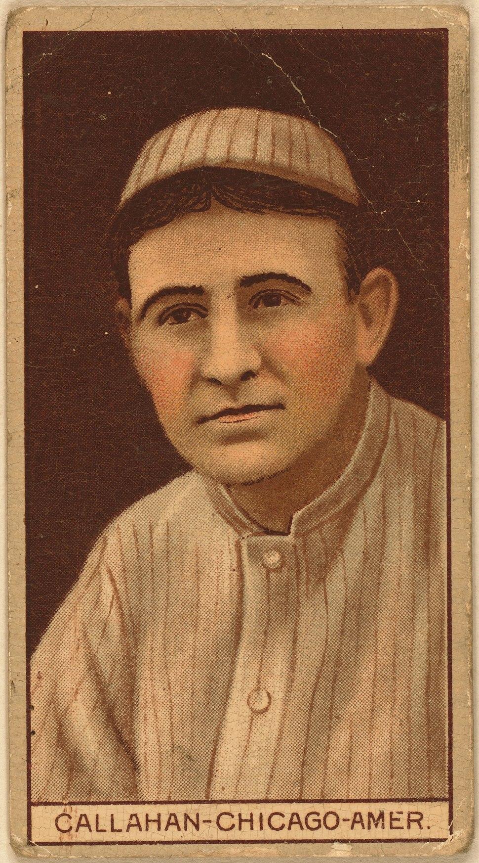 Nixey Callahan baseball card