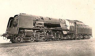 SNCB Type 1 class of 15 Belgian four-cylinder 4-6-2 locomotives