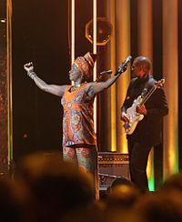 Nobel Peace Prize Concert 2011 Angélique Kidjo Harry Wad.jpg