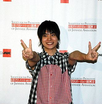 Nobuhiko Okamoto - Nobuhiko Okamoto at Anime Expo 2012