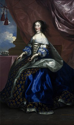 Nocret - Henrietta of England, Duchess of Orléans - National Galleries of Scotland.jpg