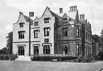 Nocton Hall - Nocton Hall in 1901