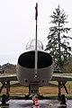 North American F-100F Super Sabre HeadOn tall EASM 4Feb2010 (14404425769).jpg
