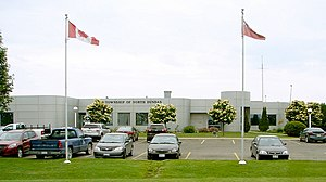 North Dundas, Ontario - North Dundas township office in Winchester