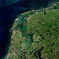North Holland, Friesland and Flevoland by Sentinel-2, 2018-06-30 (small version).jpg