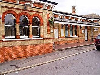 North Camp railway station - Image: North camp station