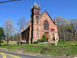 Northford Center Historic District - Northford Congregational Church