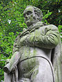 Nottingham Arboretum, statue of Feargus O'Connor the Chartist - geograph.org.uk - 1375323.jpg