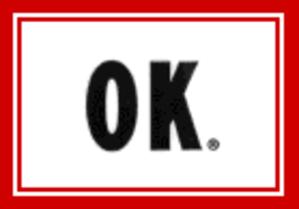 OK Soda - The minimalist OK Soda logo