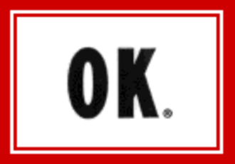 OK Soda - The minimalist OK Soda logo