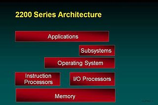 Unisys 2200 Series system architecture