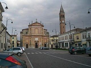 Occhiobello Comune in Veneto, Italy