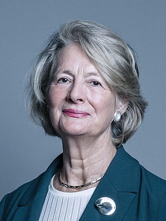 Minister for Women and Equalities - Image: Official portrait of Baroness Jay of Paddington crop 2
