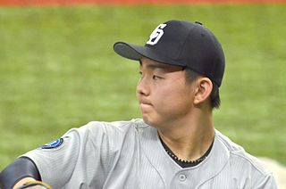 Shinnosuke Ogasawara Japanese baseball player (1997-)