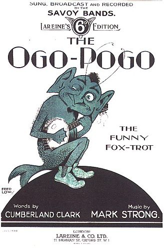 Ogopogo - Sheet music cover