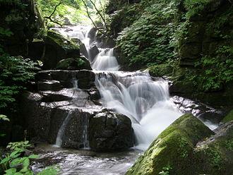 Oirase River - Oirase River gorge