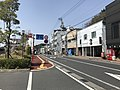 Oita Prefectural Road No.678 in front of Bungo-Mori Station.jpg