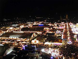 300px-Oktoberfest_at_night - Germany's Oktoberfest sees 3.6m visitors - Lifestyle, Culture and Arts