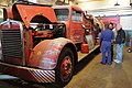 Old Kenworth fire truck at Georgetown PowerPlant Museum 01.jpg