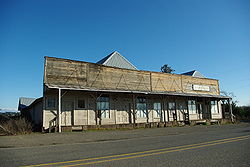 Former Mountaindale Store at Mountaindale and Dairy Creek roads