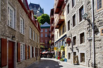 French Colonial - Image: Old Quebec (8145449190)