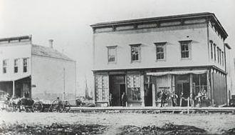 Nooksack, Washington - Image: Oldstores nooksackwashington mainstreet