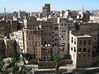 Città vecchia di Sana'a, nello Yemen