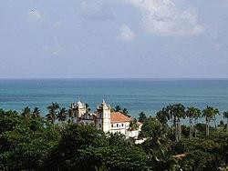 Vista de uma das Igrejas de Olinda