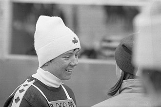 Nancy Greene Raine - Nancy Green (1968 Winter Olympics)