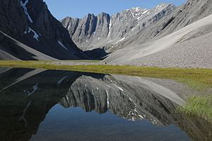 Gates of the Arctic National Park and Preserve - Oolah Valley in the Itkillik Preserve