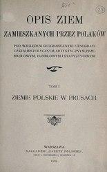 Aleksander Czechowski: Opis ziem zamieszkanych przez Polaków