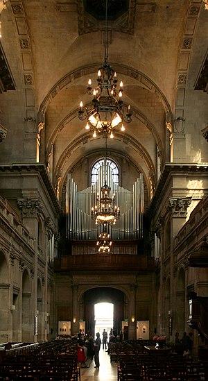 L'Oratoire du Louvre - Image: Oratoire du Louvre, intérieur