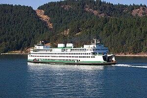 MV Kaleetan - Image: Orcas Island Ferry