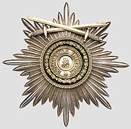 Order of St. Stanislas (Russia) Grand Cross Star with swords