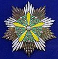Order of the Orchid Blossom star (Manchukuo) - Tallinn Museum of Orders.jpg