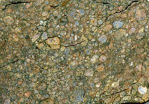 Ordinary chondrite - Image: Ordinary chondrite NWA 3189 Meteorite